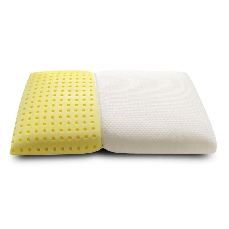 BlanQuil Chamomile pillow with yellow interior