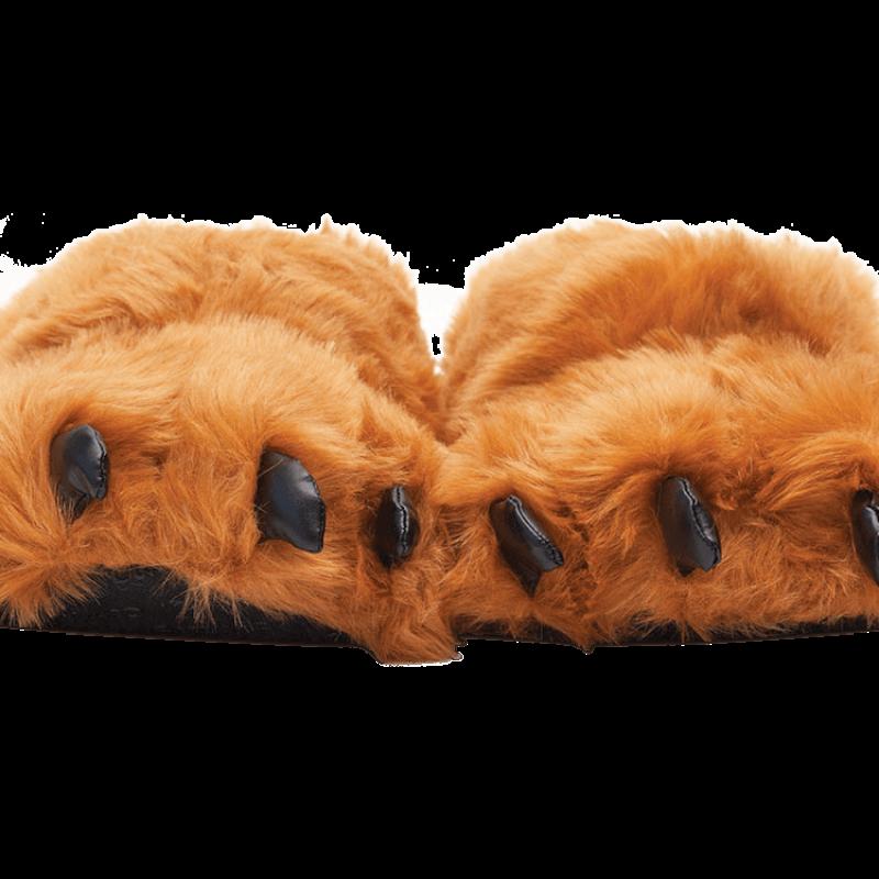 Brendan Bear Feet Slippers