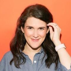 Portrait of writer Sara Gaynes Levy