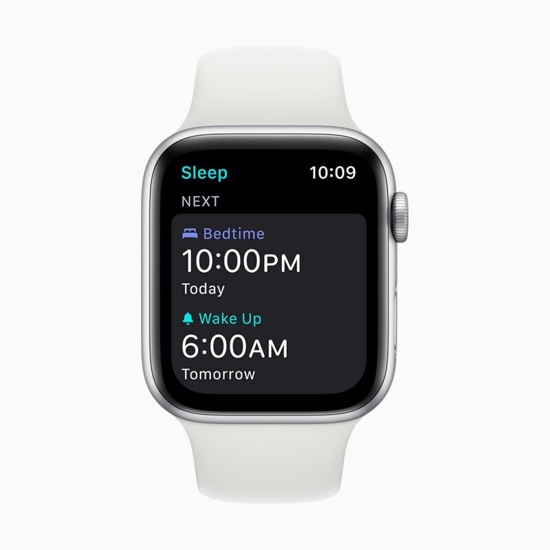 Apple Watch sleep screen