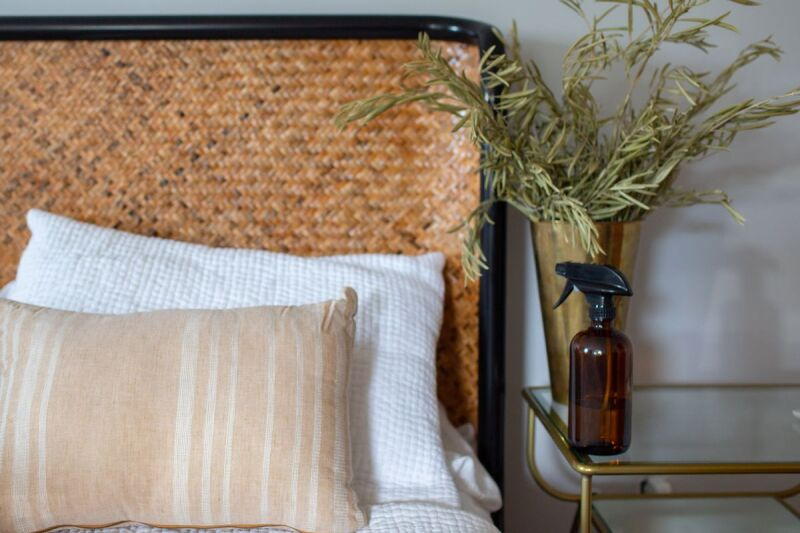 Make this DIY linen spray for better sleep and more rest.