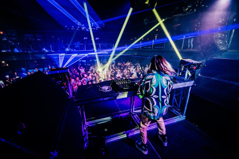 TOKiMONSTA performing at a show