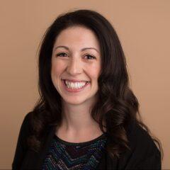 Headshot of writer Samantha Lande