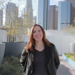 Writer Melanie Lockert