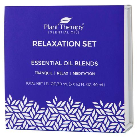 Plant Therapy Relaxation Essential Oils Box Set