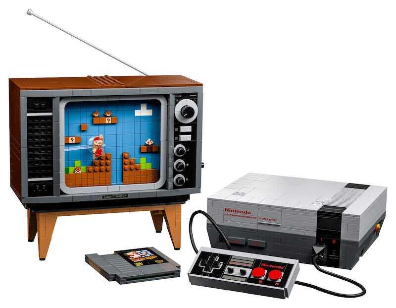 Nintendo Lego Set
